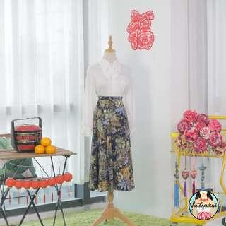 🍿 Vintage Midi Skirt VS1313
