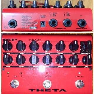 Price reduce to $200 ISP Theta Preamp guitar Pedal