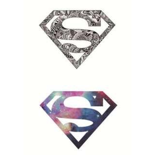 Temporary Tattoo (Galaxy Superman) (Temporarily Unavailable)
