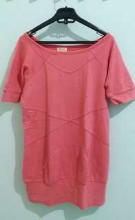 Long Sweater Pink