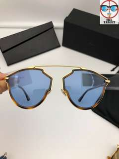 Dior so real rise sunglasses 58-17-145