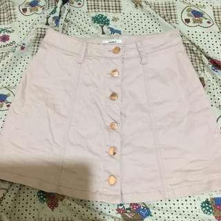 Forever 21 nude pink skirt