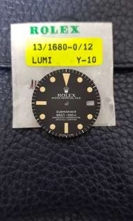 Rolox 1680 dial 錶面
