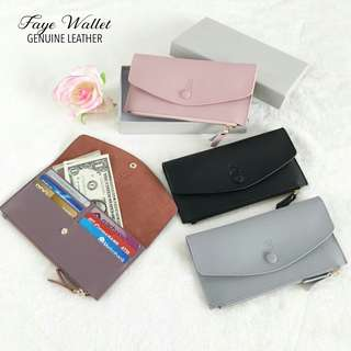Faye Genuine Leather Wallet