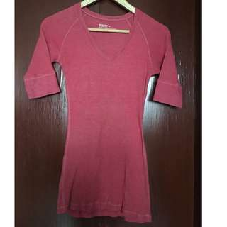 Orig Aeropostale Fitted Waist shaping top