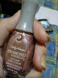Sally hansen diamond strength nail color
