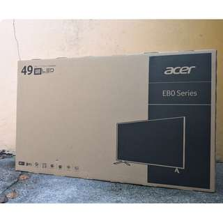 ACER 49inch 4K IPS MONITOR (EB490QK) used for 2 months! IPS 60HZ 4K