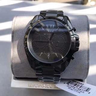 (Michael Kors/MK)  (男表)六針日曆多功能腕表 MK5550-酷黑