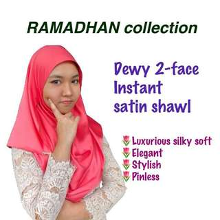 Instant satin shawl ( EID 2018 )