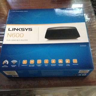 Linksys Dual Band Wifi Router