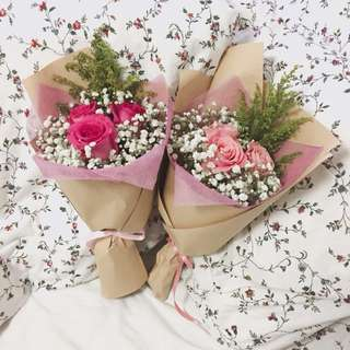 Roses Bouquet (3 stalks)