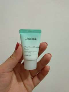 Laneige pore deep clearing foam