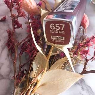Maybelline 657 nude nuance