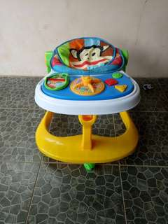 2in1 baby walker and push walker