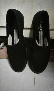 KEDS Black Slip-On