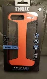 iPhone 7plus 硬殼(紅黑)