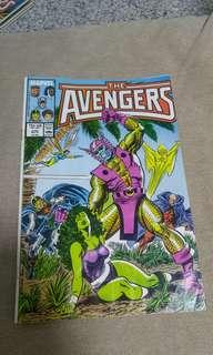 1980s Avengers Comics