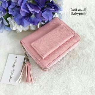 FEW PIECES LEFT!!!  GAYLE WALLET (Pre-order)