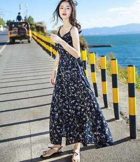 Korean maxi dress