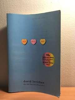 Boy Meets Boy (by David Levithan)