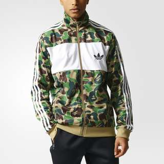 Adidas X A Bathing Ape Firebird Track Jacket #mausupreme
