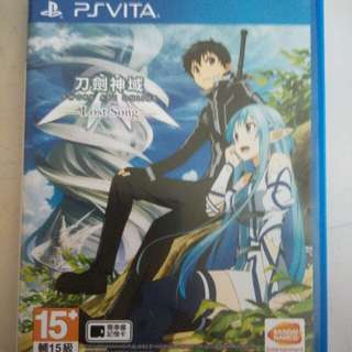 PS Vita Games - Sword Art Online Lost Song (Chinese ver)