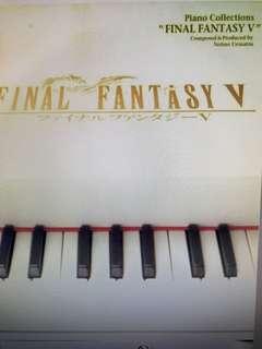 FINAL FANTASY V PIANO COLLECTIONS