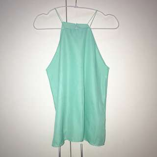 NEW! Halter Cami in Mint