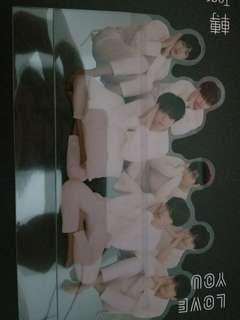 BTS LOVE YOURSELF 轉 TEAR 立牌