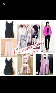 Clearance sales :)