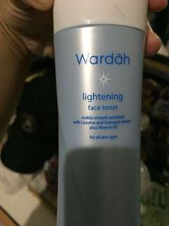 #mausupreme #mausupreme wardah lightineting face toner