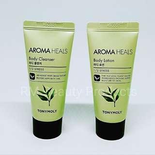 Tony Moly Aroma Heals 1/2 Stress Body Set