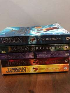 Percy Jackson Whole Series