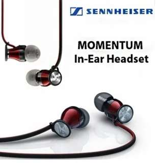 Sennheiser momentum in-earphone (for Android/Red Colour)