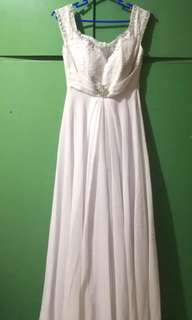 Pearl White Wedding Gown (Rental Available!)