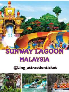 SUNWAY LAGOON MALAYSIA (The Cheapest in Carousell!)