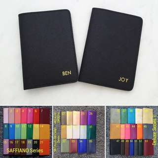 Custom passport cover Personalised passport holder travel accessories