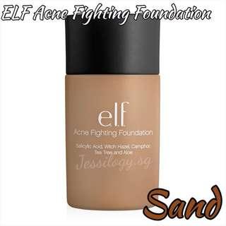 INSTOCK e.l.f. Studio Acne Fighting Foundation in SAND / e.l.f. Cosmetics / ELF Acne Fighting Foundation in SAND