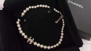 Chanel 珍珠短鏈