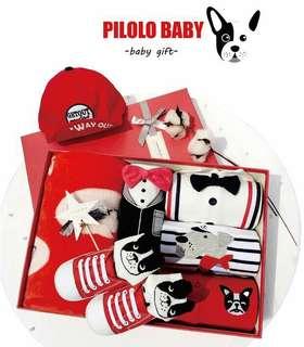 baby dog style gift set 0-24m