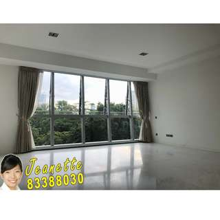 QUIET, FULL GREENERY FACING 3 BEDROOM WITH DUAL KITCHEN FOR RENT