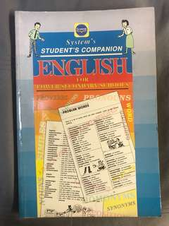 Student's Companion: English for Lower Secondary