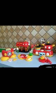 mickey mouse 米奇廚房過家家發聲玩具