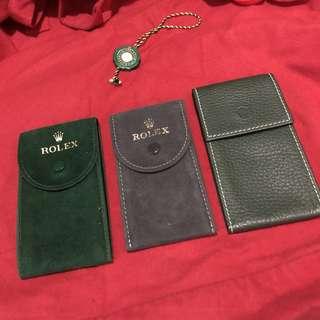 Rolex bag case 錶袋