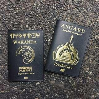 Wakanda & Asgard Passport Case