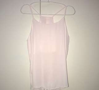 NEW! Racerback Spaghetti Straps in Baby Pink