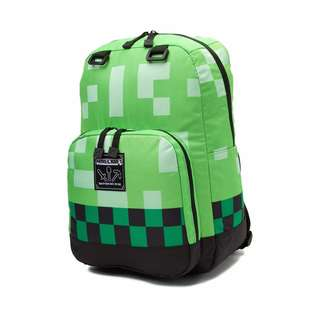 MINECRAFT GREEN CREEPER BACKPACK SRP of 39.90USD