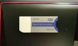 Authentic Sony Memory Stick Duo Adaptor