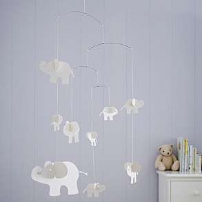 Indy Elephant Paper Mobile by The White Company