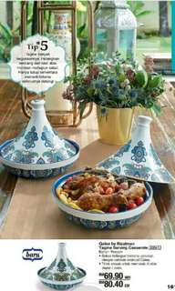 Qalea By Rizalman Tagine Serving Casserole (1)